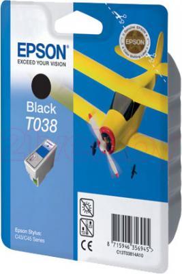 Картридж Epson C13T03814A10 - общий вид