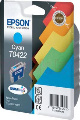 Картридж Epson C13T04224010 - общий вид