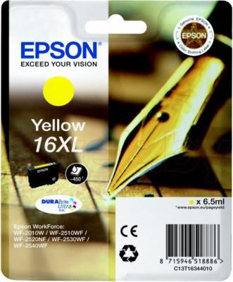 Картридж Epson C13T16344010 - общий вид