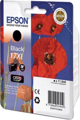 Картридж Epson C13T17114A10 - общий вид