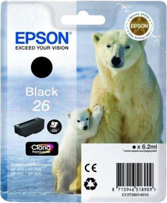 Картридж Epson C13T26014010 - общий вид
