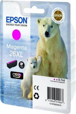 Картридж Epson C13T26334010 - общий вид