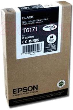Картридж Epson C13T617100 - общий вид