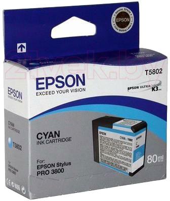 Картридж Epson C13T580200 - общий вид
