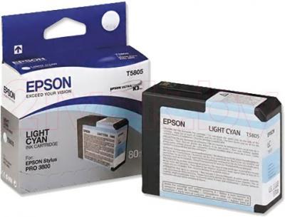Картридж Epson C13T580500 - общий вид