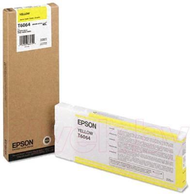Картридж Epson C13T606400 - общий вид