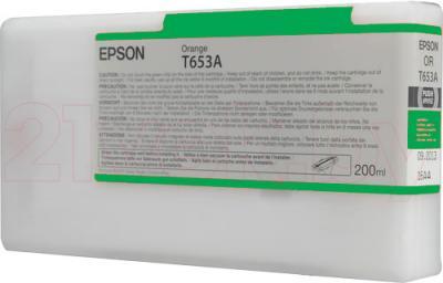 Картридж Epson C13T653B00 - общий вид