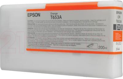 Картридж Epson C13T653A00 - общий вид