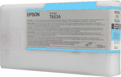 Картридж Epson C13T653500 - общий вид