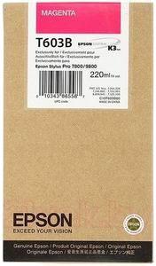 Картридж Epson C13T603B00 - общий вид