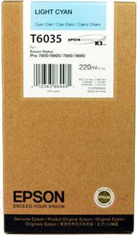 Картридж Epson C13T603500 - общий вид