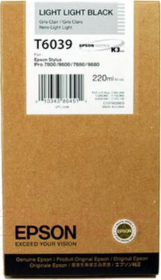 Картридж Epson C13T603900 - общий вид