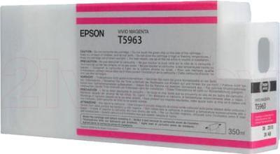 Картридж Epson C13T596300 - общий вид