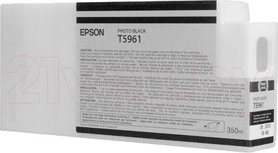Картридж Epson C13T596100 - общий вид