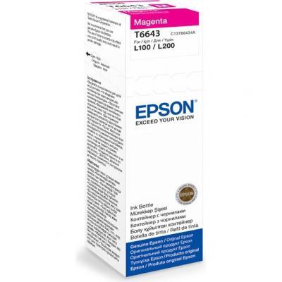 Контейнер с чернилами Epson C13T66434A - общий вид