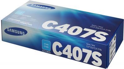 Тонер-картридж Samsung CLT-C407S - упаковка