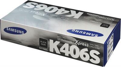 Тонер-картридж Samsung CLT-K406S - упаковка