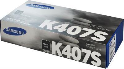 Тонер-картридж Samsung CLT-K407S - упаковка
