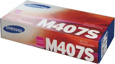Тонер-картридж Samsung CLT-M407S - упаковка