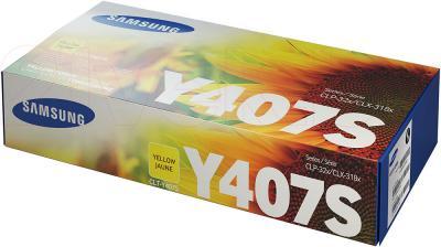 Тонер-картридж Samsung CLT-Y407S - упаковка