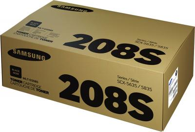 Тонер-картридж Samsung MLT-D208S - упаковка