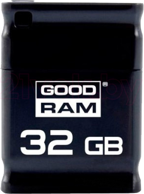 Usb flash накопитель Goodram PICCOLO Black 32GB (PD32GH2GRPIKR10) - общий вид