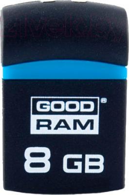 Usb flash накопитель Goodram PICCOLO Black 8GB (PD8GH2GRPIKR10) - общий вид