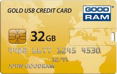 Usb flash накопитель Goodram Credit Card 32GB (PD32GH2GRCCPR9) - общий вид