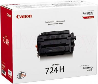 Тонер-картридж Canon Cartridge 724H - общий вид