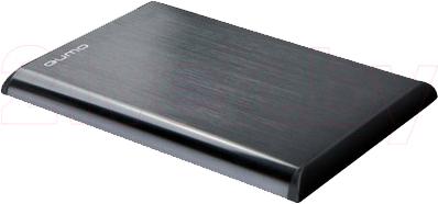 Внешний жесткий диск Qumo Classic 750Gb (Silver) - общий вид
