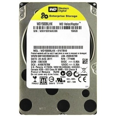 Жесткий диск Western Digital VelociRaptor 150GB (WD1500BLHX) - общий вид