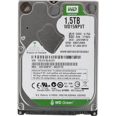 Жесткий диск Western Digital Caviar Green 1.5TB (WD15NPVT)