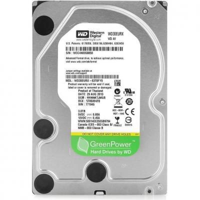 Жесткий диск Western Digital AV-GP 3TB (WD30EURX) - общий вид