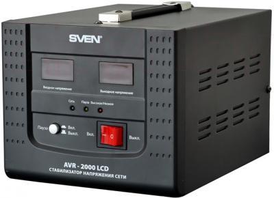 Стабилизатор напряжения Sven AVR-2000 LCD - общий вид
