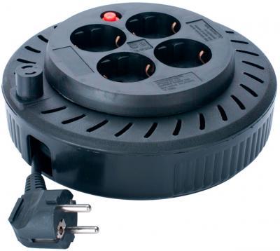 Удлинитель на катушке Sven Spool 3G-5m (черный) - общий вид