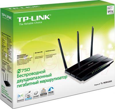 Беспроводной маршрутизатор TP-Link TL-WDR4300 - упаковка