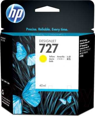 Картридж HP 727 (B3P15A) - общий вид