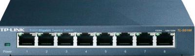 Коммутатор TP-Link TL-SG108 - общий вид