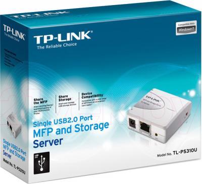 Принт-сервер TP-Link TL-PS310U - упковка