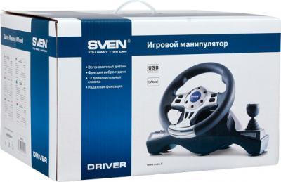 Игровой руль Sven Driver - коробка