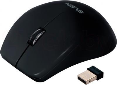 Мышь Sven RX-610 (Black) - общий вид