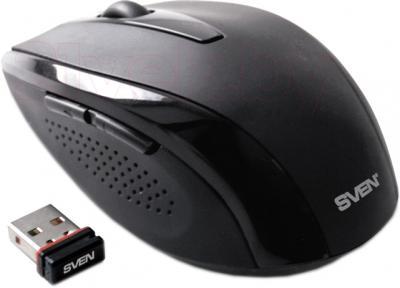 Мышь Sven RX-420 (Black) - общий вид