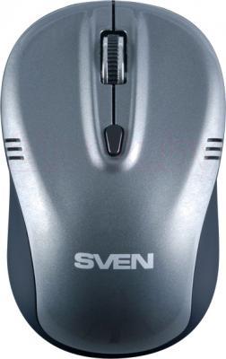 Мышь Sven RX-330 (серый) - общий вид