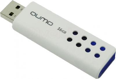 Usb flash накопитель Qumo Domino 16GB (Blue) - общий вид