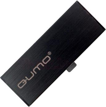 Usb flash накопитель Qumo Aluminium 16GB (Black) - общий вид
