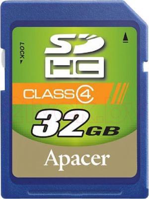 Карта памяти Apacer SDHC (Class 4) 32GB (AP32GSDHC4-R) - общий вид