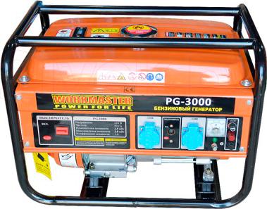Бензиновый генератор WorkMaster PG 3000 - общий вид