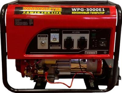 Бензиновый генератор WorkMaster PG 3000 E1 - общий вид
