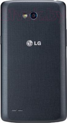 Смартфон LG L80 Dual / D380 (черный) - задняя панель