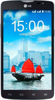 Смартфон LG L80 Dual / D380 (черный) - общий вид